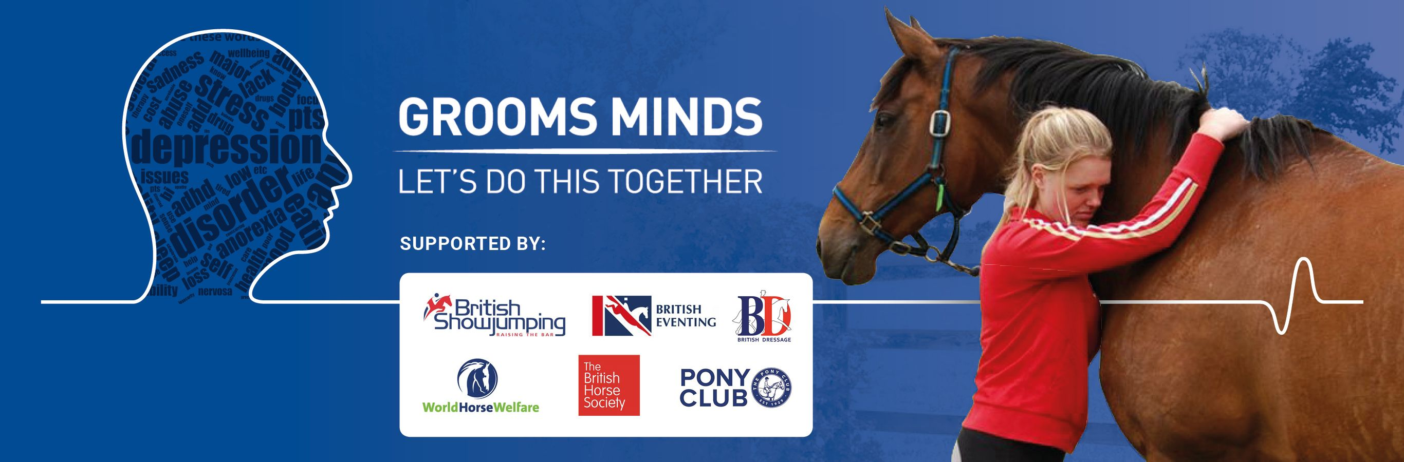 Grooms Minds Mental health support from British Grooms Association
